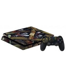 اسکین PS4 اسلیم طرح Zombies