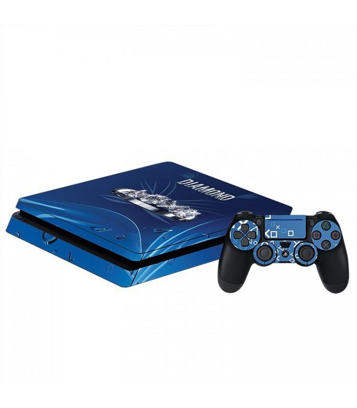 اسکین PS4 اسلیم طرح Diamond