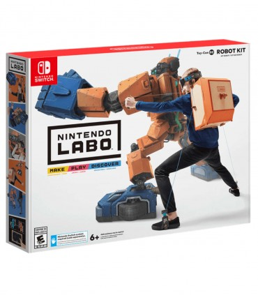 کیت ربات نینتندو لابو Nintendo Labo Robot Kit