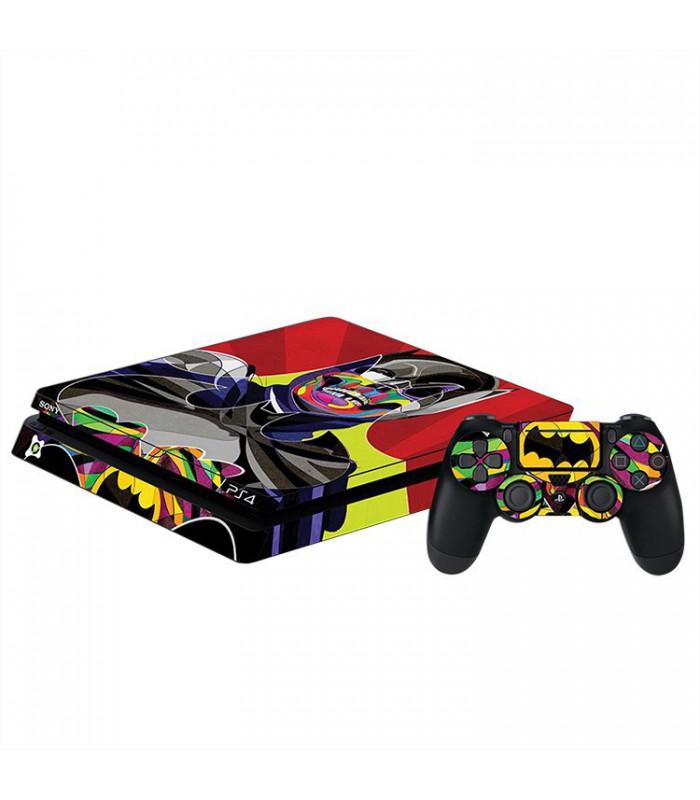 اسکین PS4 اسلیم طرح Batman Art