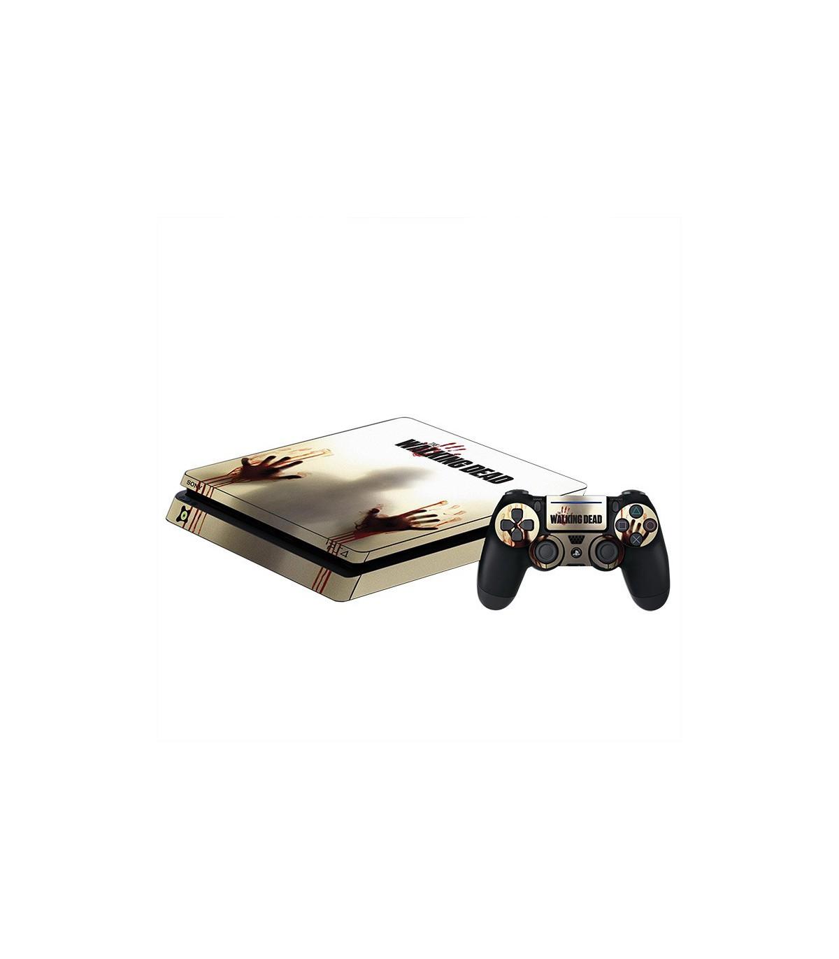 اسکین PS4 اسلیم طرح Walking Dead