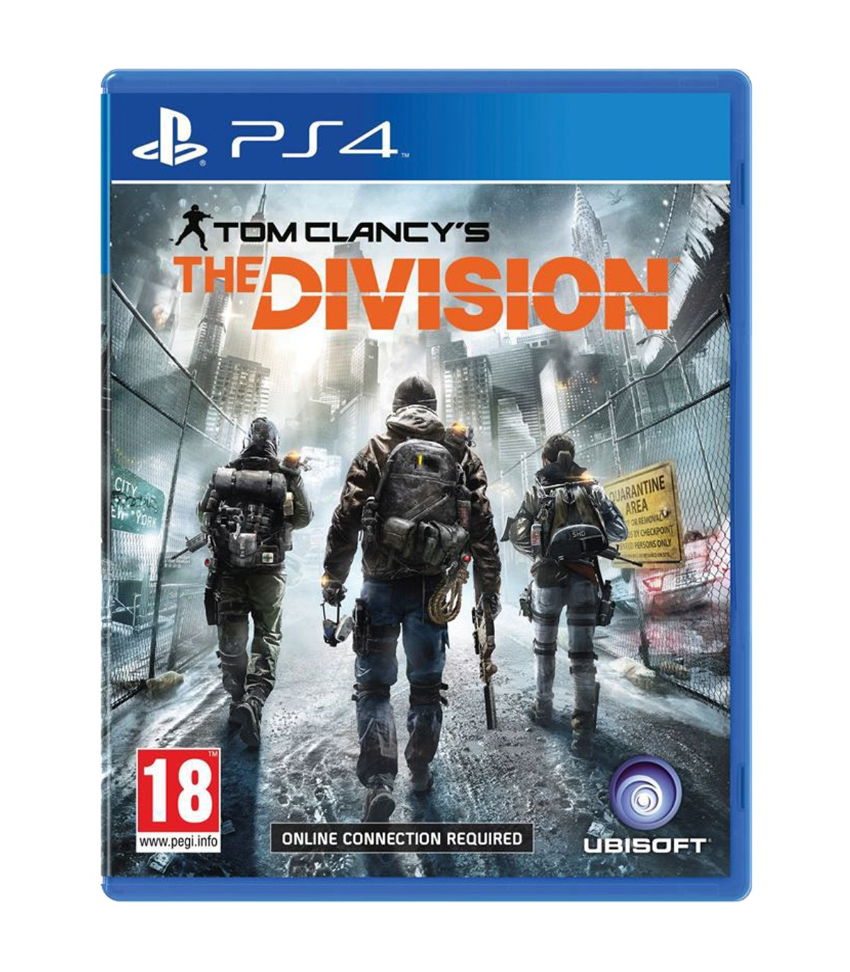 بازی Tom Clancy's The Division - پلی استیشن 4