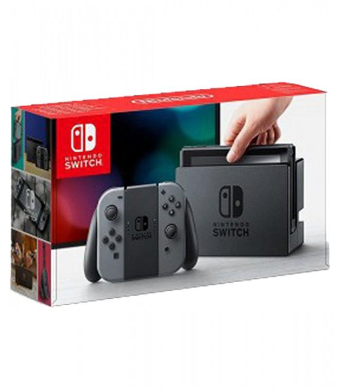 کنسول Nintendo Switch رنگ خاکستری کارکرده (دست دوم)