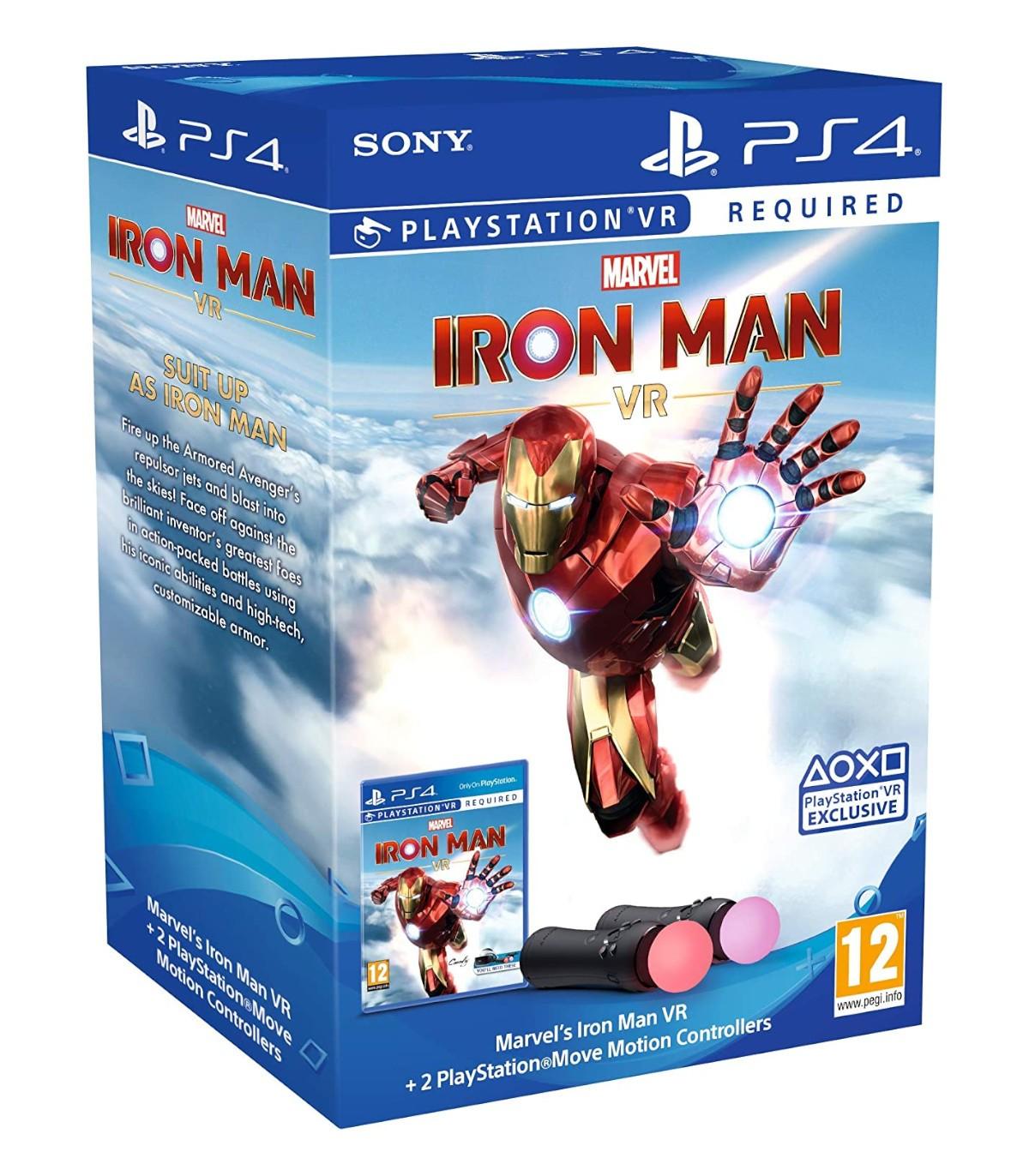 بازی Marvel's Iron Man VR به همراه PlayStation Move Controller