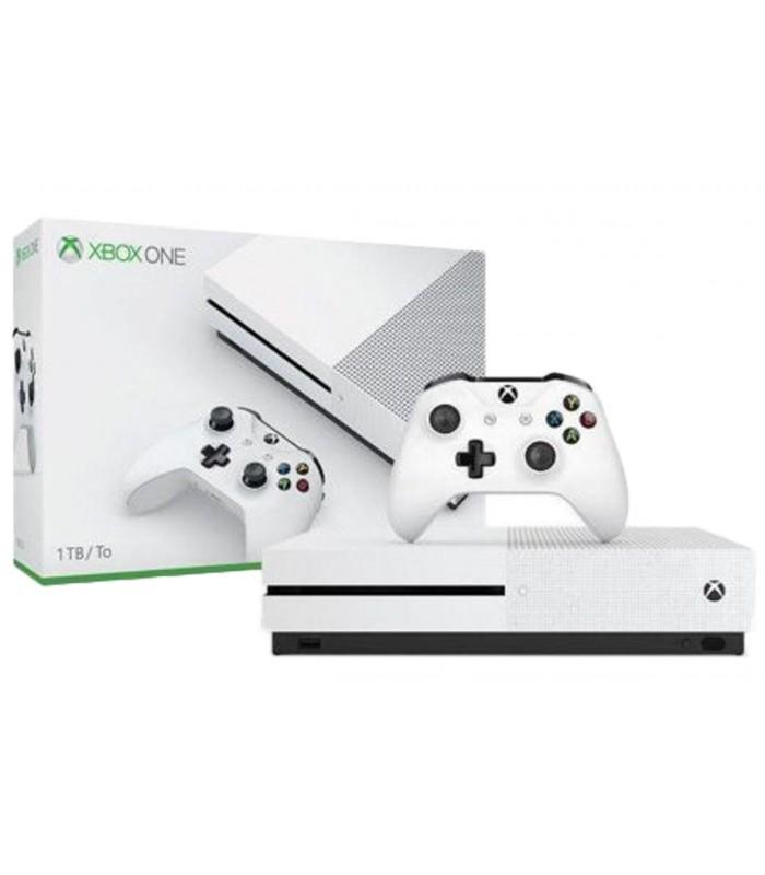 کنسول بازی Xbox One S نسخه کپی خور شده به همراه بازی - کارکرده