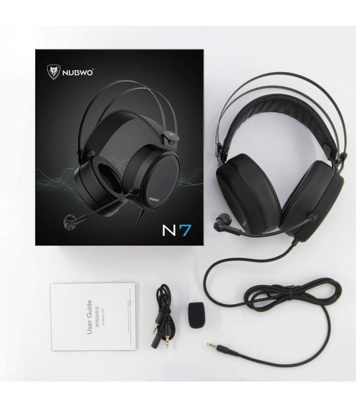 هدست گیمینگ Nubwo N7 با میکروفن برای بازی، کنسول، موبایل و تبلت