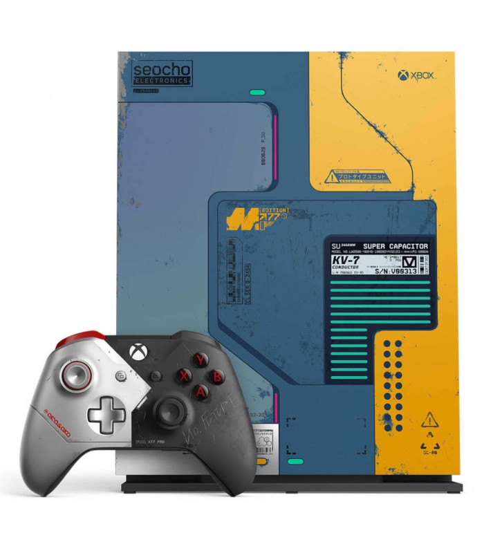 کنسول ایکس باکس وان ایکس باندل Cyberpunk 2077 Limited Edition