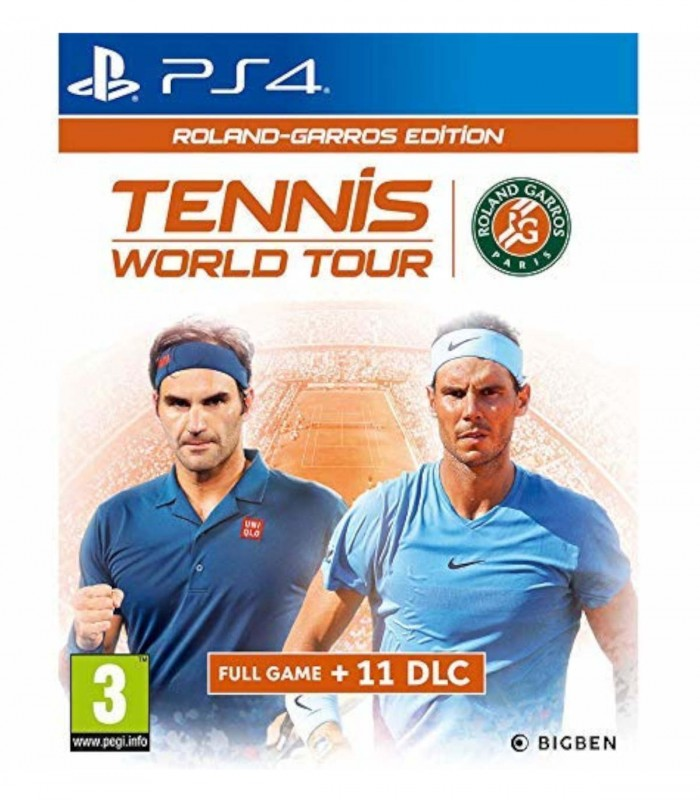 بازی Tennis World Tour Roland Garros Edition - پلی استیشن 4