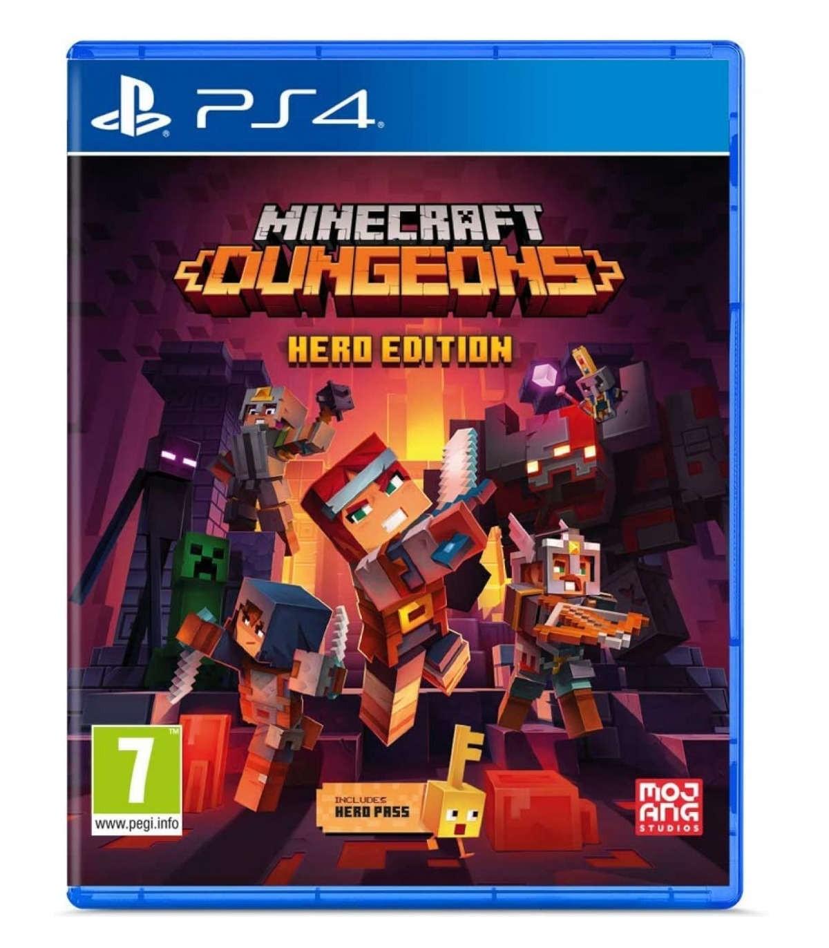 بازی Minecraft Dungeons Hero Edition - پلی استیشن 4