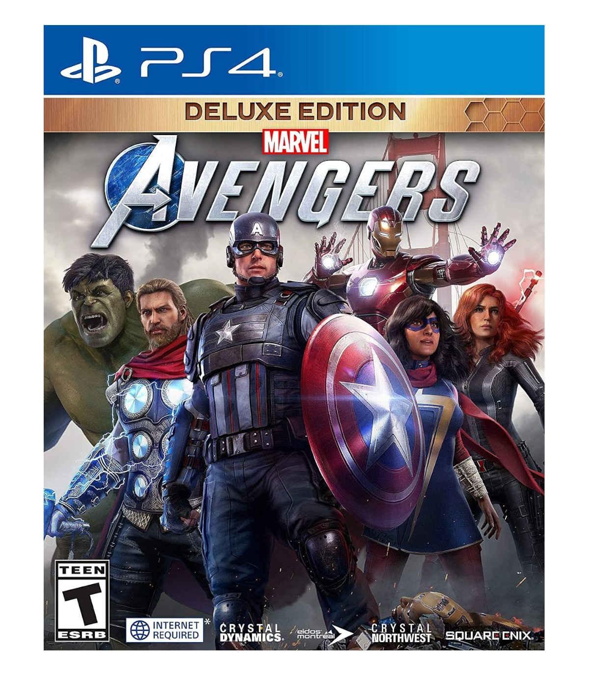 بازی Marvel's Avengers: Deluxe Edition - پلی استیشن 4