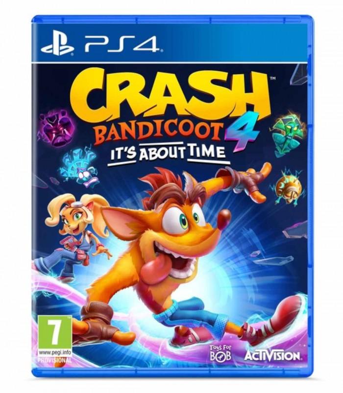 بازی Crash Bandicoot 4: It's About Time - پلی استیشن 4