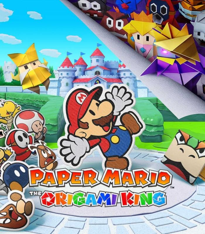 بازی Paper Mario: The Origami King - نینتندو سوئيچ