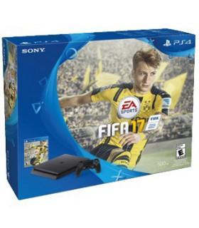 Playstation 4 Slim 500GB به همراه بازی فیزیکی فیفا 17