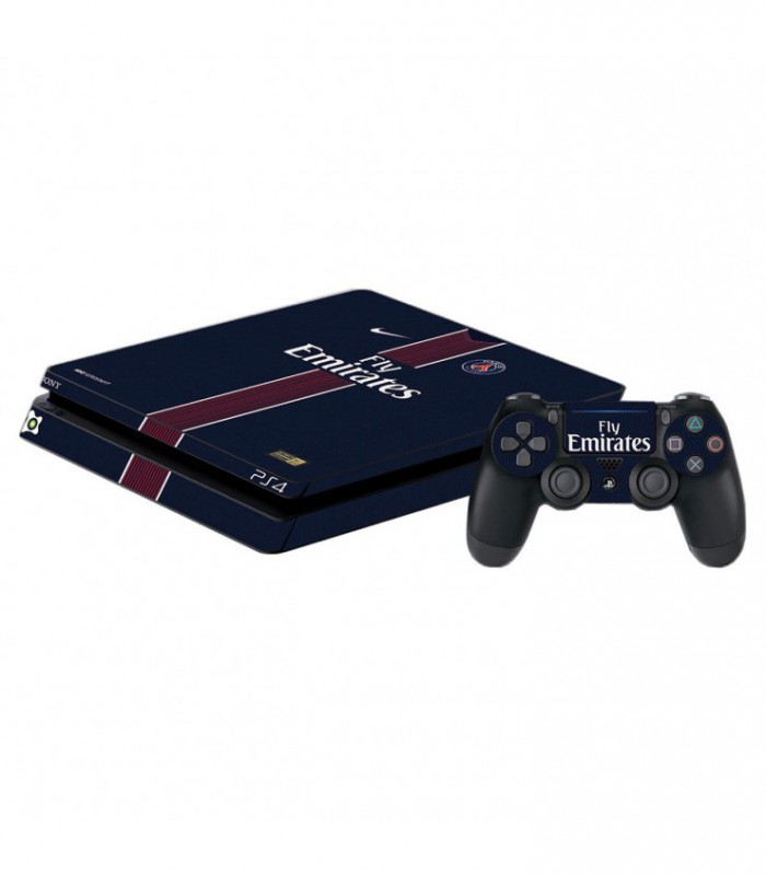 اسکین PS4 اسلیم طرح paris saint-german