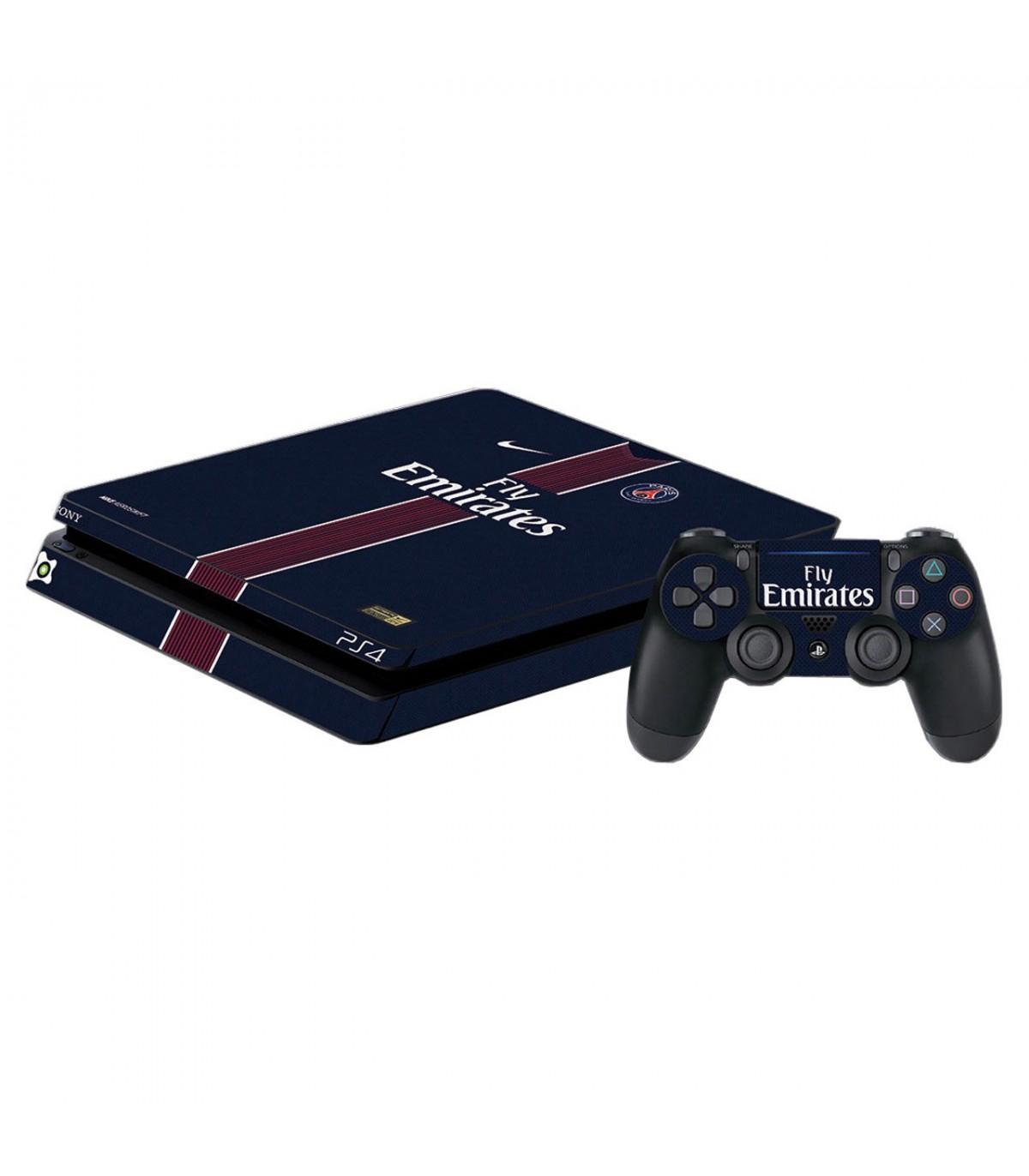 اسکین PS4 اسلیم طرح paris saint-german