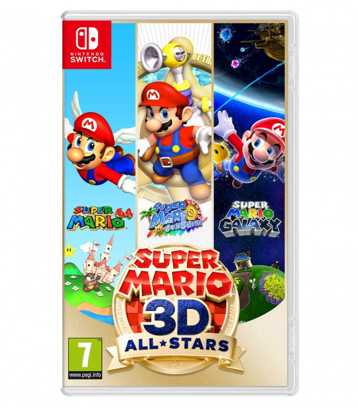 بازی Super Mario 3D All stars - نینتندو سوئيچ