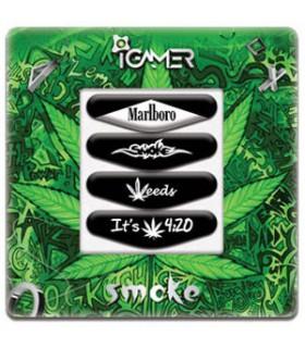پک چهارعددی لایت بار دسته پلی استیشن 4 طرح Smoke