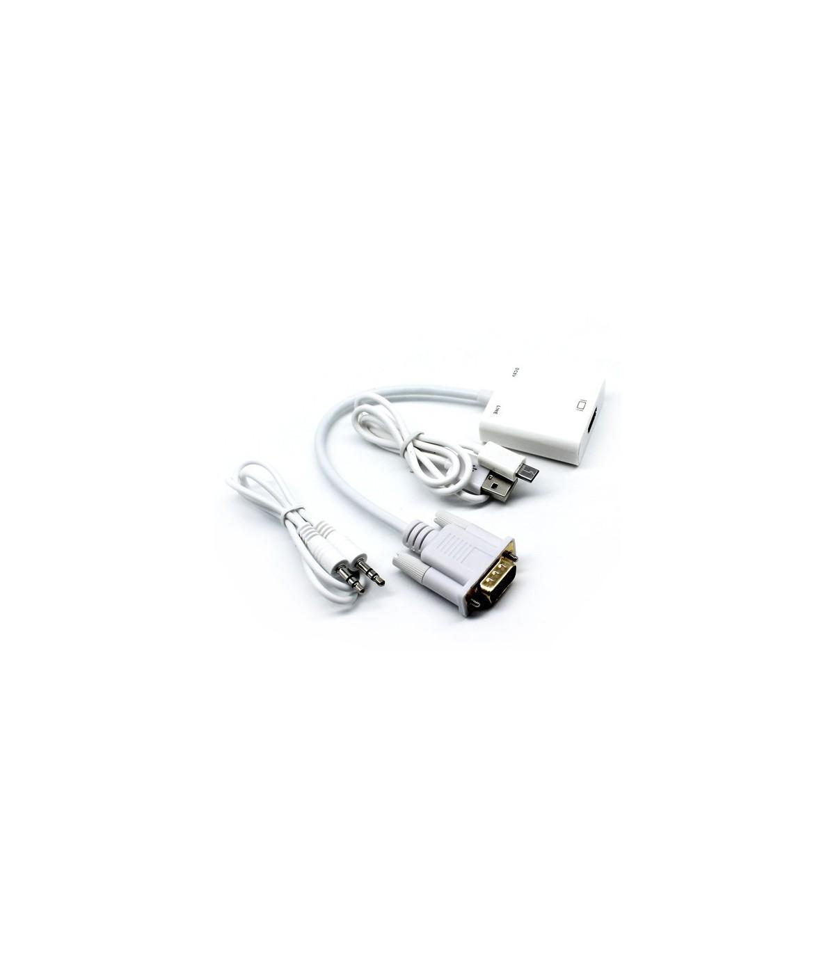 کابل تبدیل VGA به HDMI
