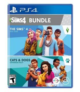 بازی The Sims 4 Cats and Dogs Bundle - پلی استیشن 4