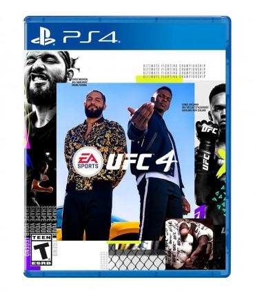 بازی EA SPORTS UFC 4 کارکرده - پلی استیشن 4