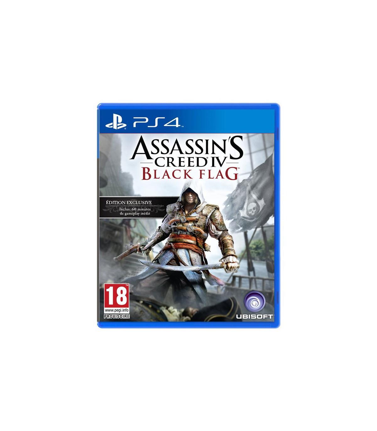 بازی Assassin's Creed Black Flag کارکرده - پلی استیشن ۴