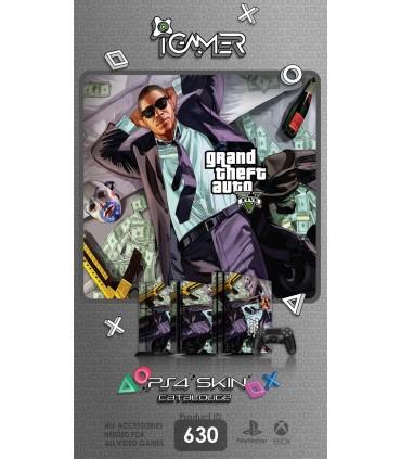 اسکین PS4 آی گیمر طرح Grand Theft Auto