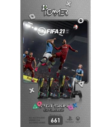 اسکین PS4 آی گیمر طرح FIFA 21