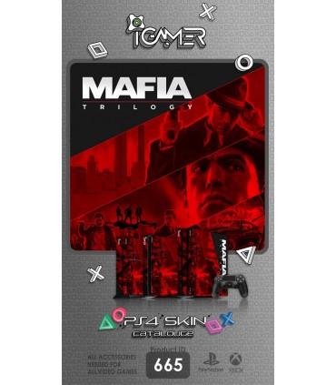 اسکین PS4 آی گیمر طرح Mafia