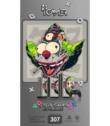 اسکین PS4 آی گیمر طرح Joker