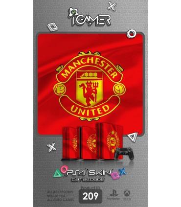 اسکین PS4 آی گیمر طرح Manchester United