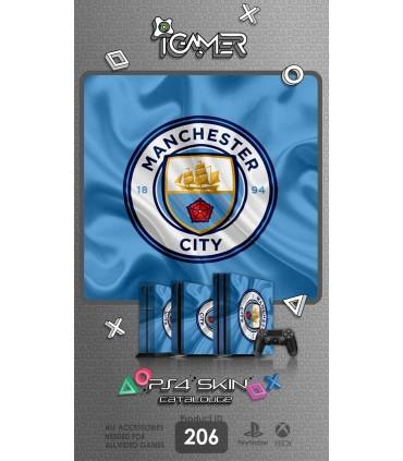 اسکین PS4 آی گیمر طرح Manchester City