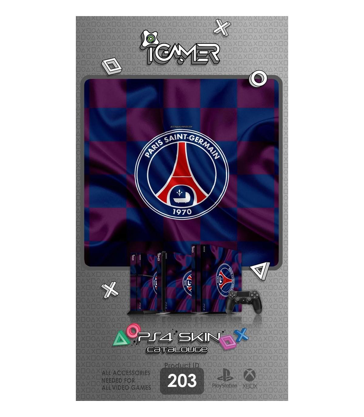اسکین PS4 آی گیمر طرح Paris Saint-Germain