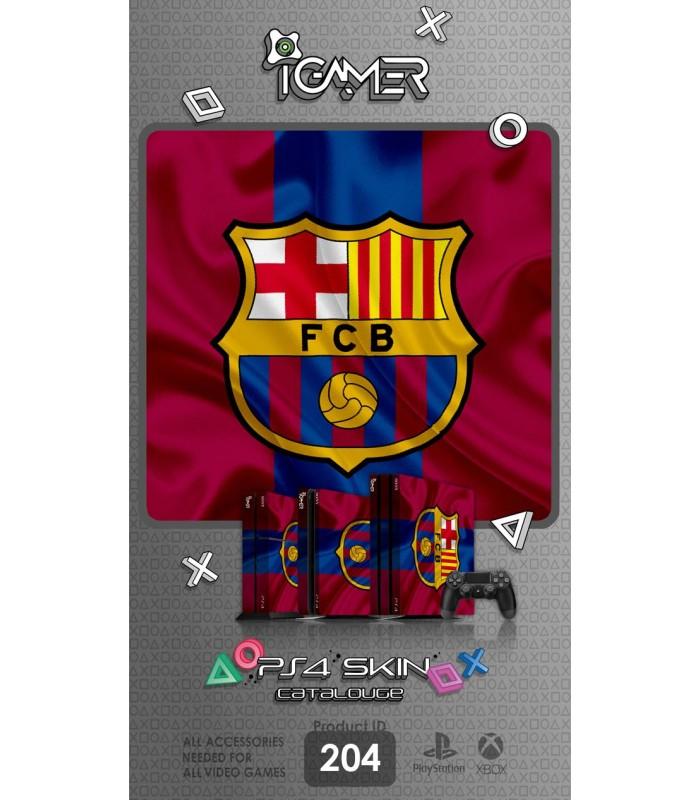 اسکین PS4 آی گیمر طرح Barcelona