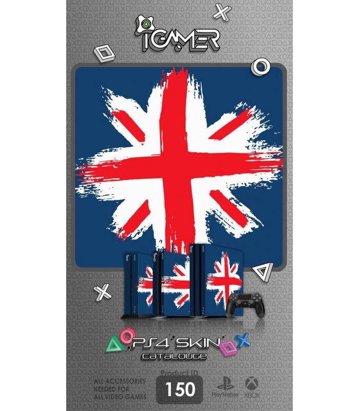 اسکین PS4 آی گیمر طرح پرچم بریتانیا