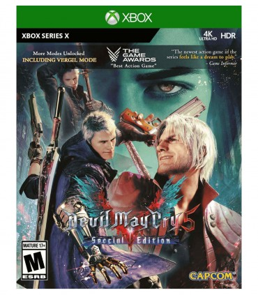 copy of بازی Devil May Cry 5 - پلی استیشن 5