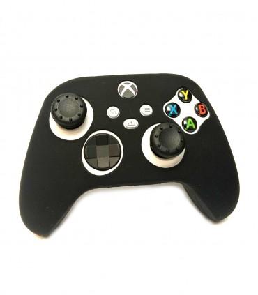 روکش دسته ایکس باکس Xbox Series Black همراه با ۲ عدد محافظ