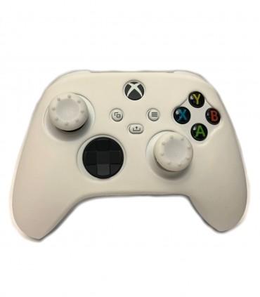 روکش دسته ایکس باکس Xbox Series White همراه با ۲ عدد محافظ