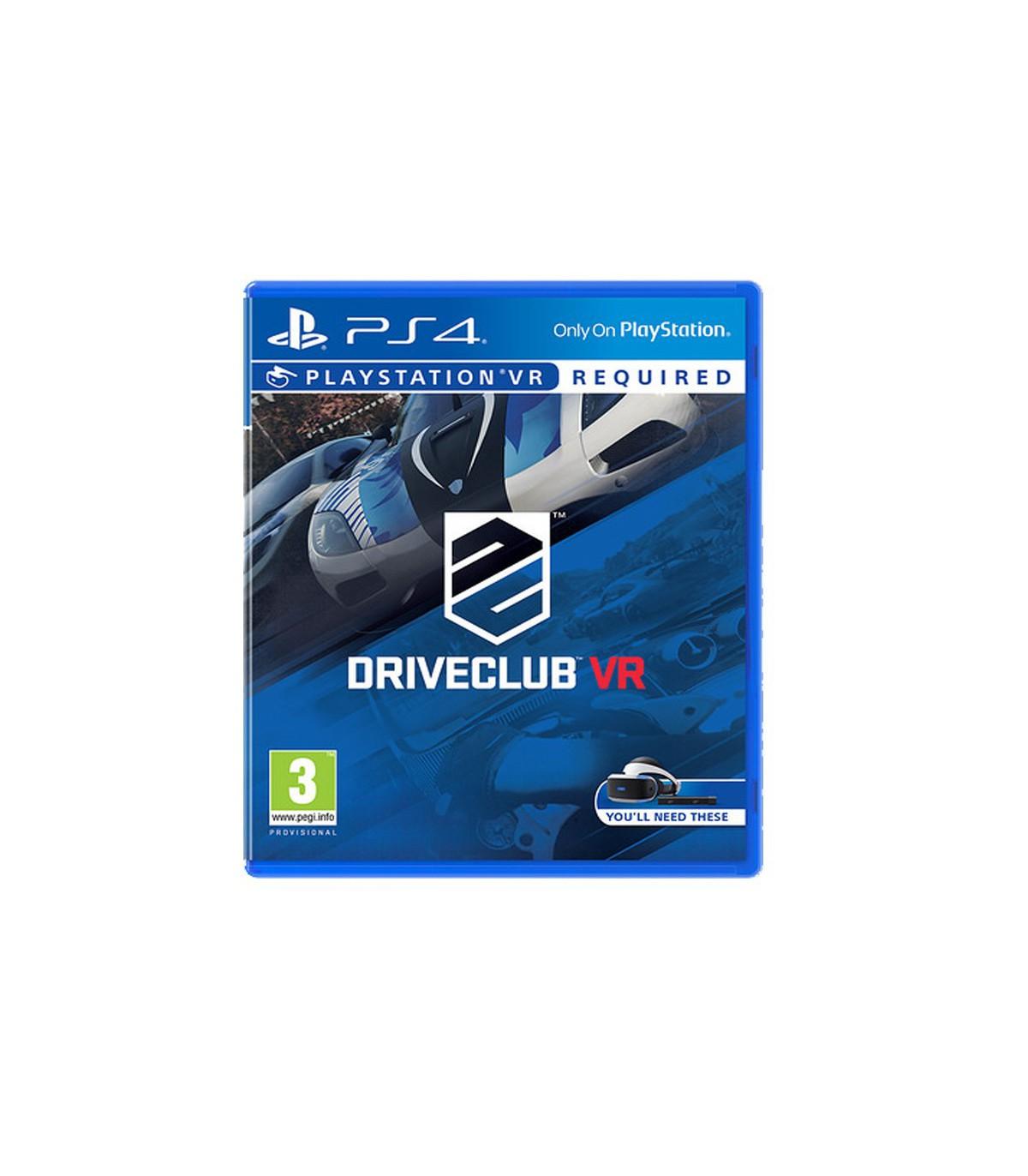 بازی Drive Club VR کارکرده - پلی استیشن وی آر