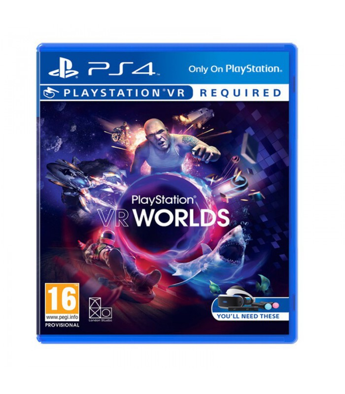 بازی   VR WORLDS