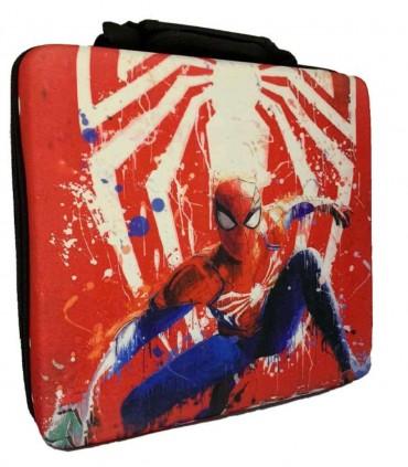 کیف حمل ضد ضربه برای پلی استیشن 4 اسلیم طرح Spider-Man