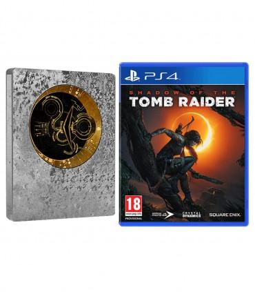 بازی Shadow of the Tomb Raider Limited Steelbook Edition - پلی استیشن 4