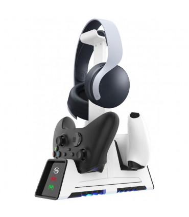 شارژر مگنتی دسته و استند هدست - Magnetic Charger Station With Headset Stand