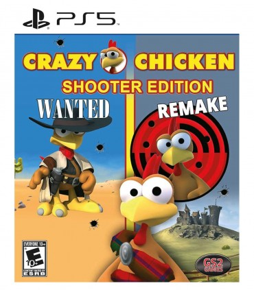 بازی Crazy Chicken Shooter Edition - پلی استیشن 5