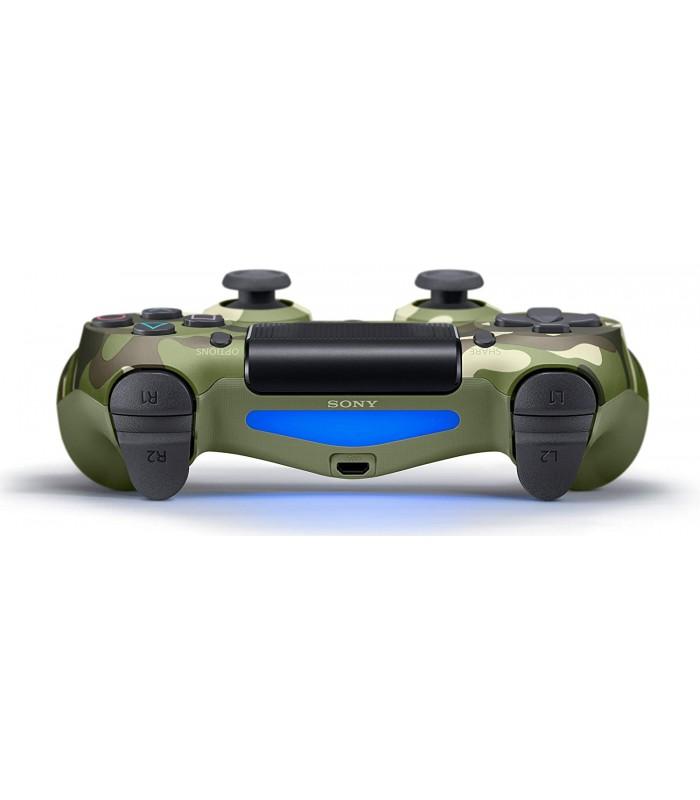 دسته ارتشی اسلیم DualShock 4 Green Camo Slim Wireless Controller