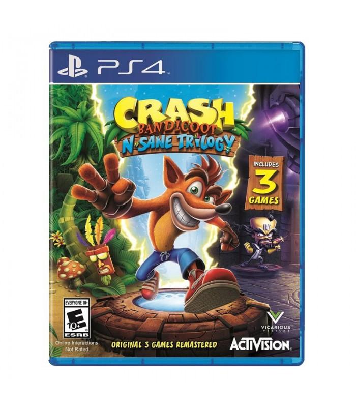 بازی Crash Bandicoot N. Sane Trilogy کارکرده - پلی استیشن ۴