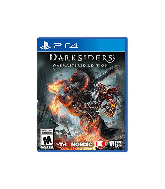 بازی Darksiders: Warmastered Edition کارکرده