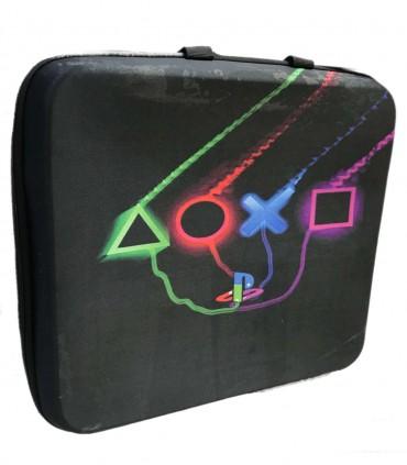 کیف حمل پلی استیشن 5 طرح دکمه کنترلر