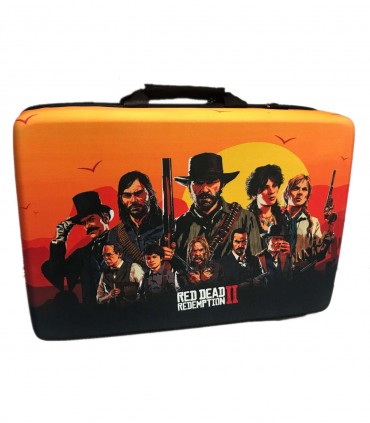 کیف حمل پلی استیشن 5 طرح Red Dead Redepmtion 2