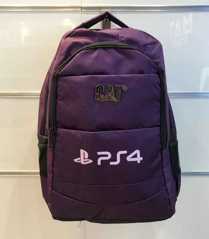 کیف حمل پلی استیشن 4 طرح PS4 رنگ بنفش