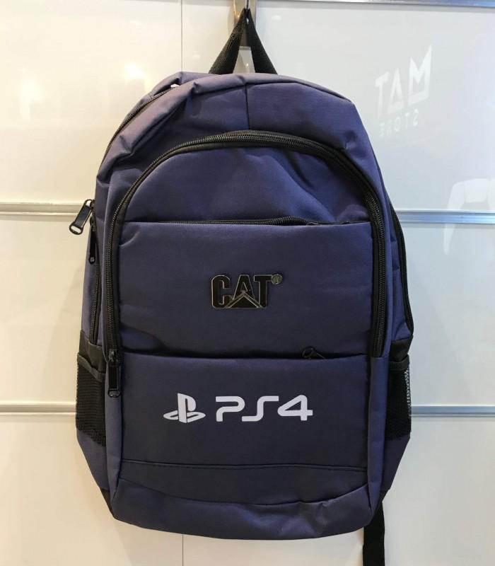 کیف حمل پلی استیشن 4 طرح PS4 رنگ سرمهای